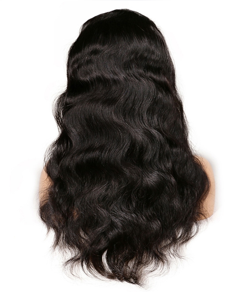Dolago Hair Breathable Cap Body Wave 250% High Density 13x6 Lace Front Wigs