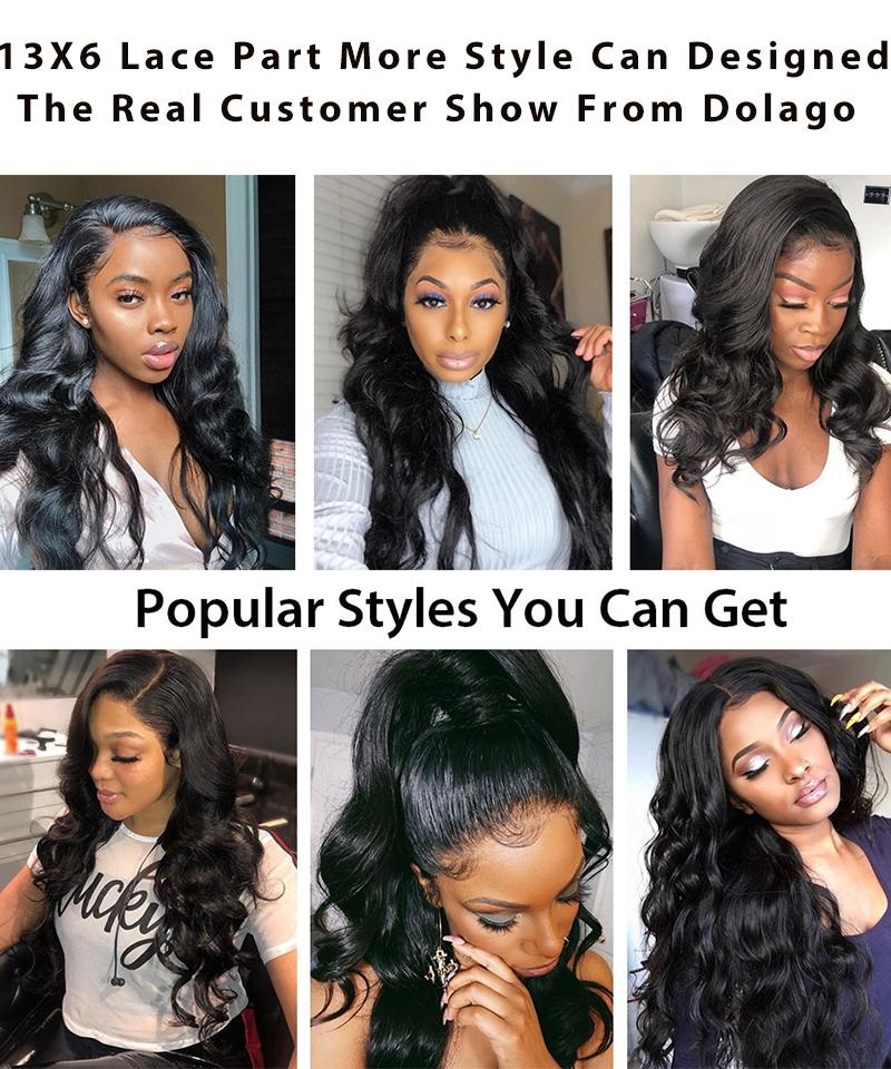 customer show from dolago hair