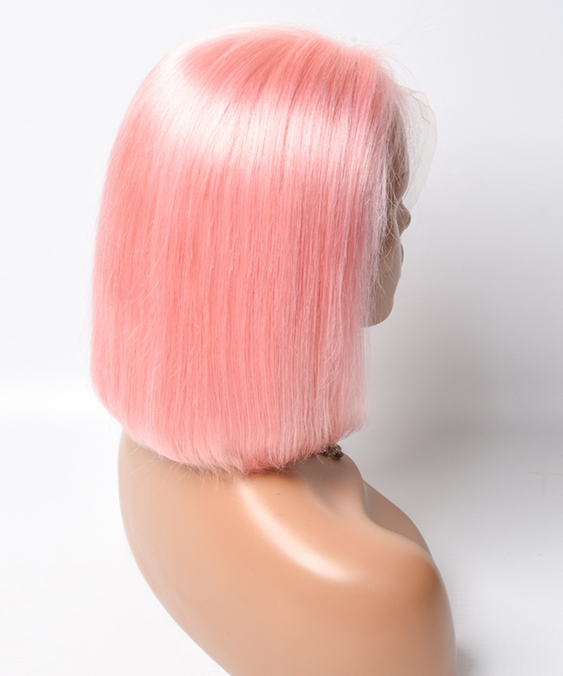 colorful pink wigs