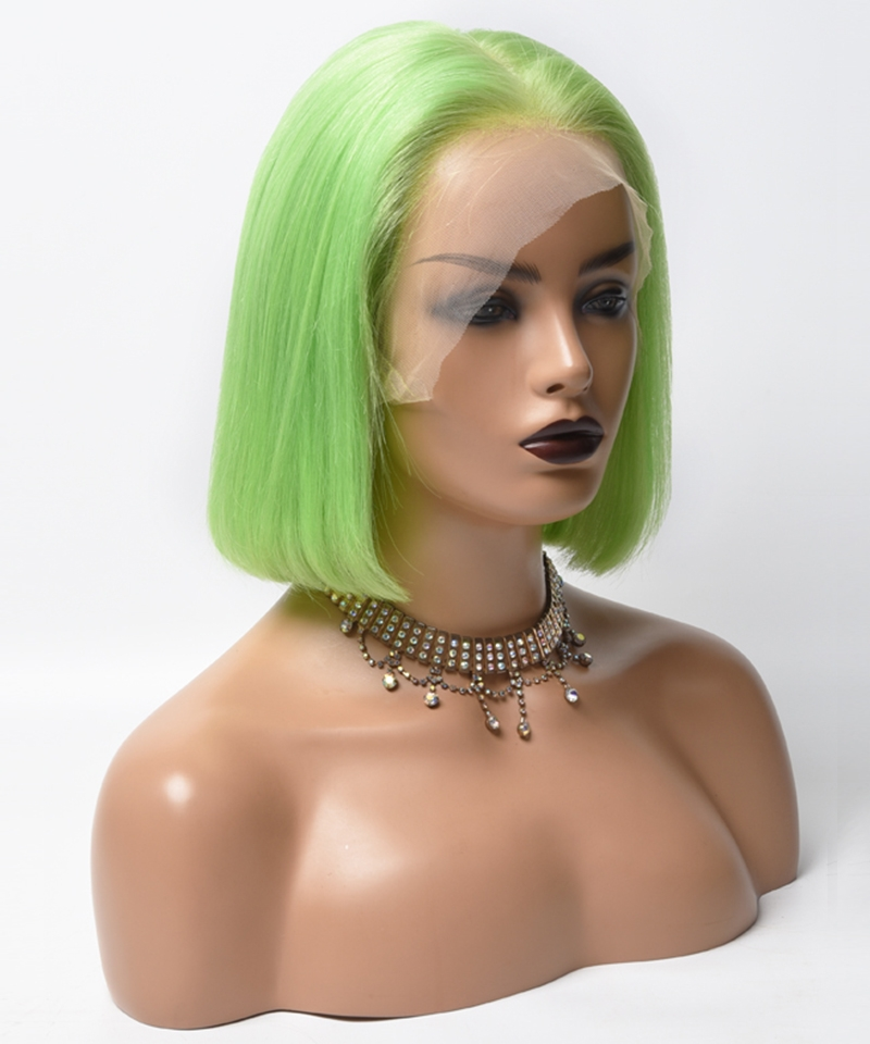 colorful wigs green wigs