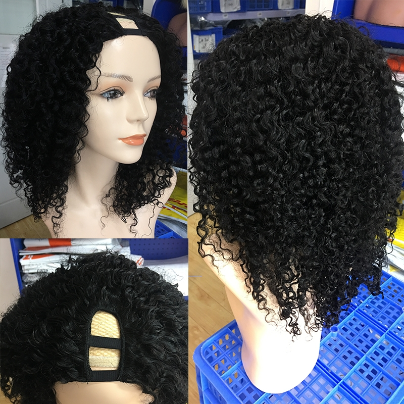 3B 3C kinky Curly Wigs