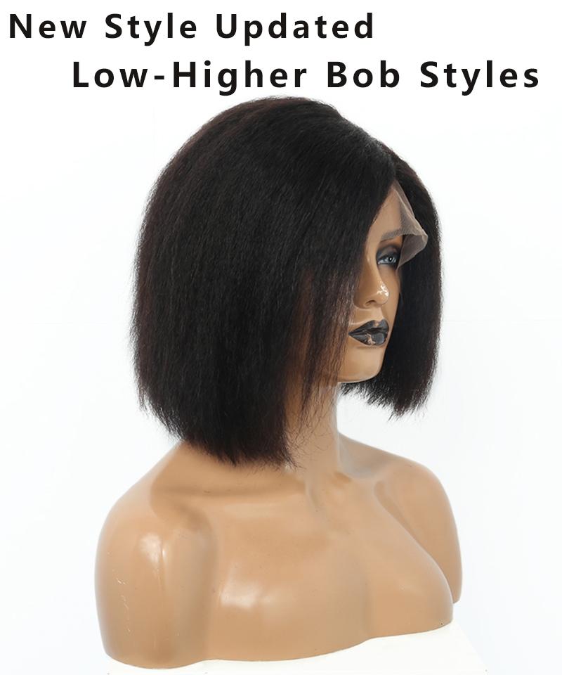 kinky bob styles for women