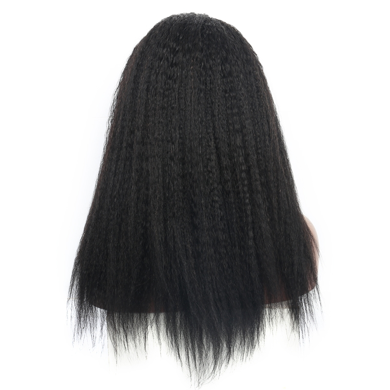 Kinky straight u part wigs from dolago