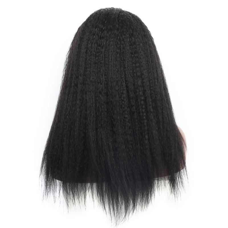 kinky straight U part human hair