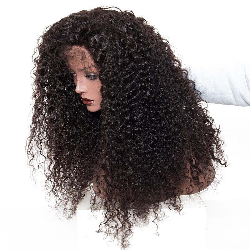 deep curly human hair wigs