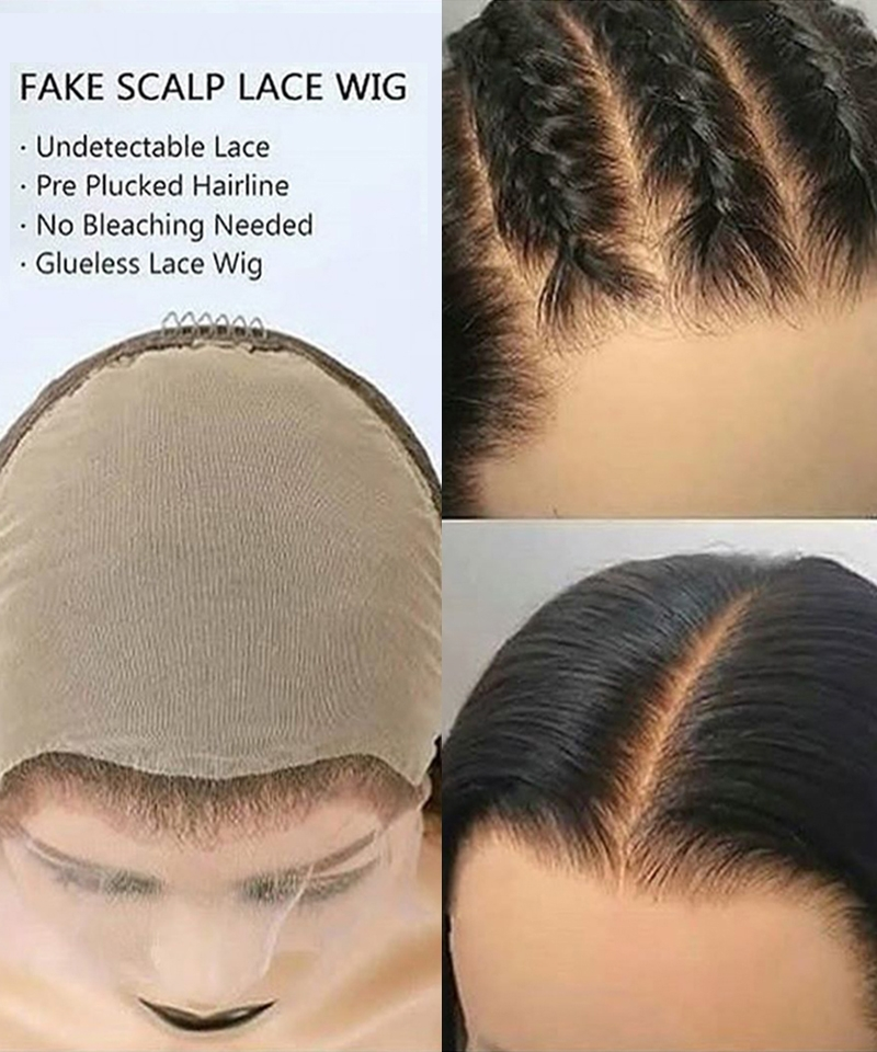 fake scalp cap size