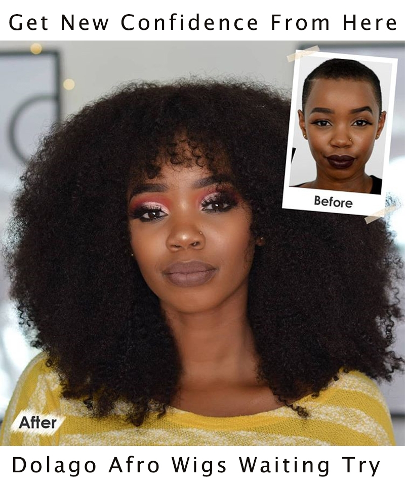 Afro Kinky Curly 13x6 Lace Front Human Virgin Hair Wigs 250% Density