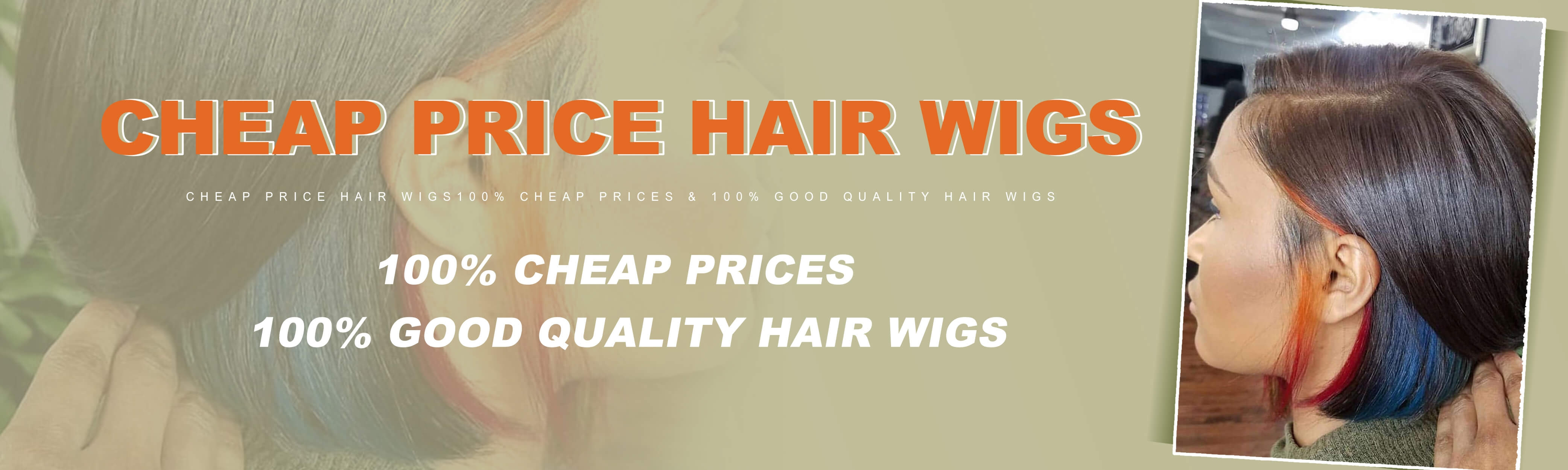 cheap prices human hair wigs for women