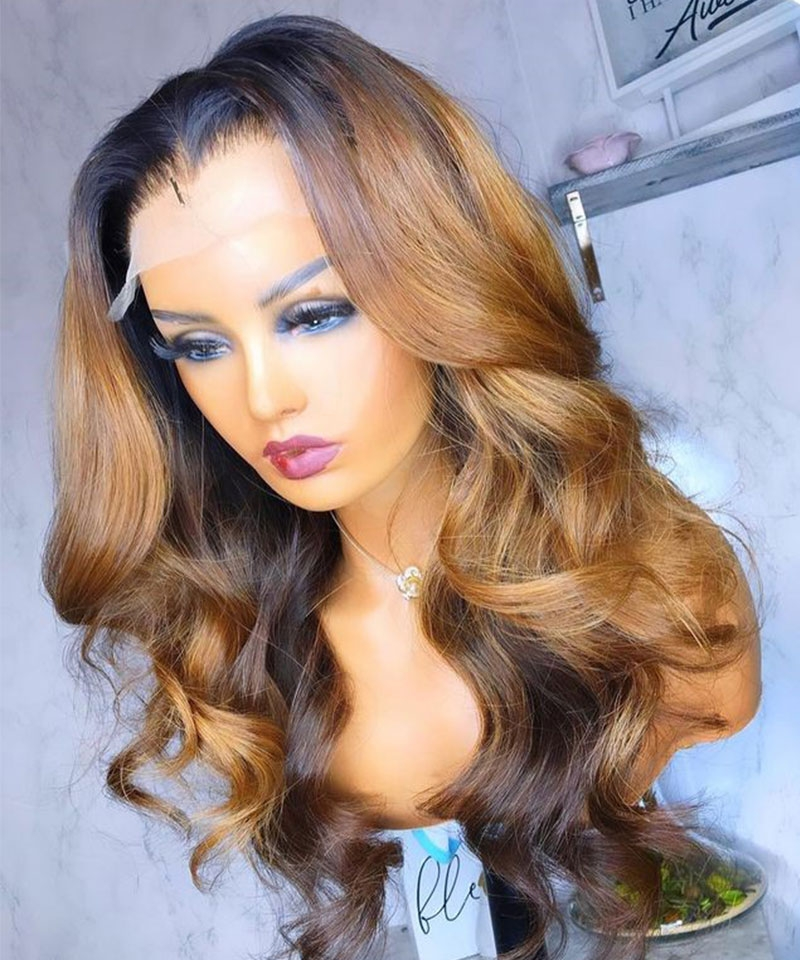 body wave wigs hd lace type dyed for sale
