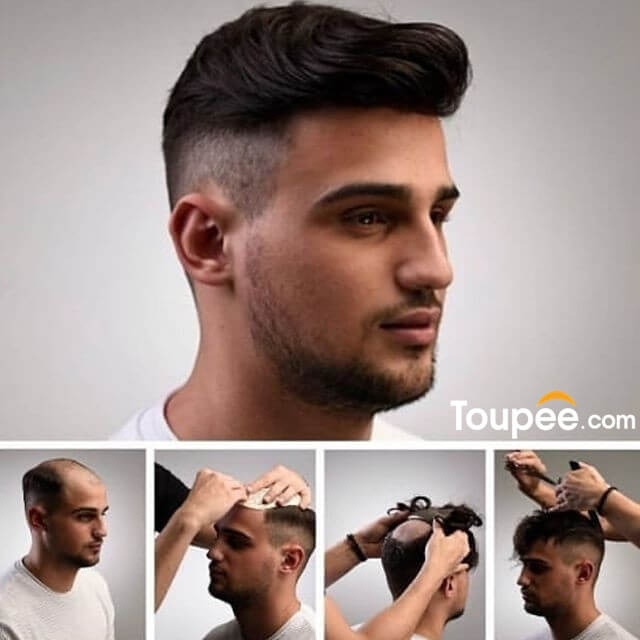 How to wear a toupee?